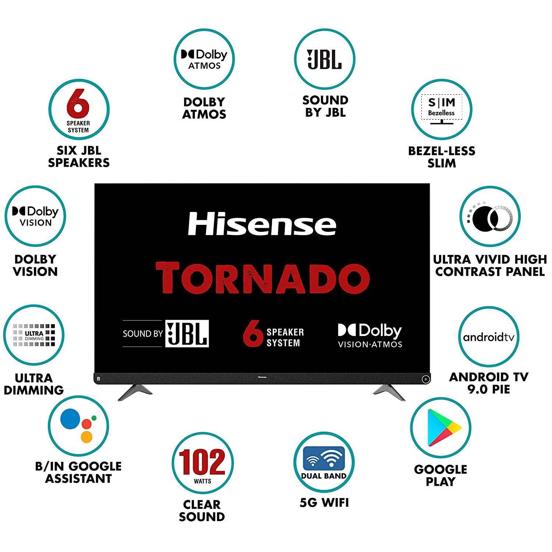 Hisense Tornado TV complete review